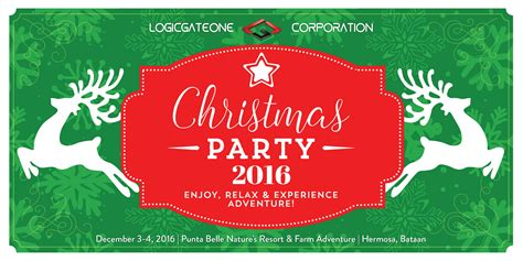 layout for christmas party christmas party tarpaulin concept and design layout