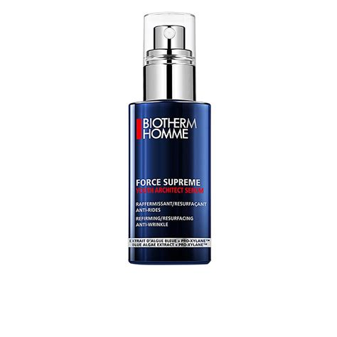 biotherm homme supreme homme supreme youth architect serum treatments