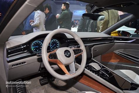 White Home Interior by 2015 Vw Sport Coupe Concept Gte Revealed With V6 Turbo