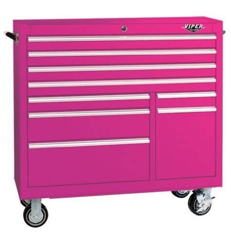 amazon tool storage cabinets the original pink box pb4109r 41 inch 9 18g steel