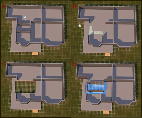 Draw Floorplan mod the sims tutorial basements and foundations with