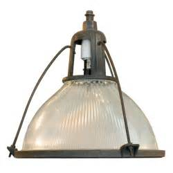 Oversized Chandeliers Holophane Industrial Hanging Light Fixture For Sale At 1stdibs