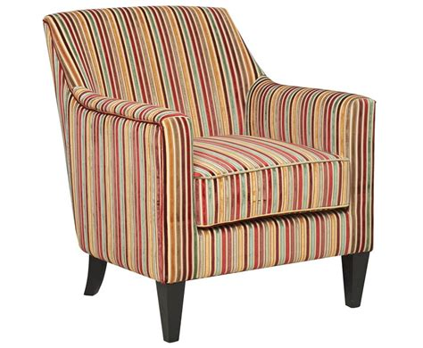 golding striped fabric arm chair