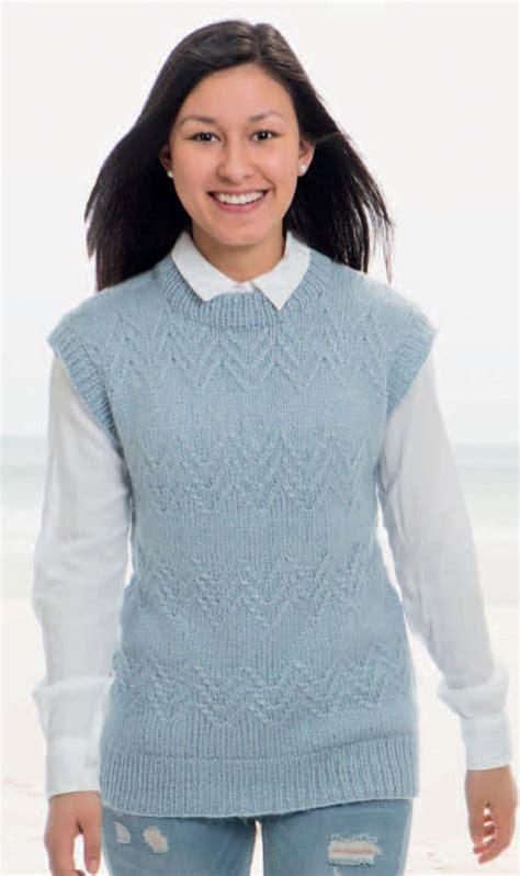 knitting pattern womens vest knitting pattern vest knit sideways