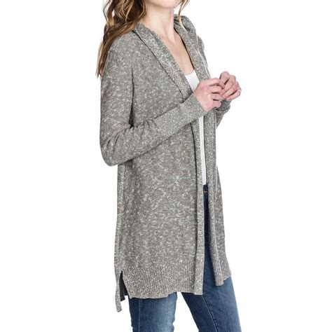 Duster Sweaters by Lilla P Hooded Duster Sweater For 135ct