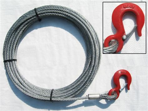 attaching strap hangers wire bumpers metropolitan picture 8mm x 15 metre hand winch cable with hook 2500lbs wire