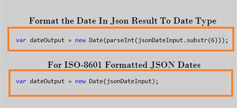 php date format to javascript how to format json date how to format json date in asp