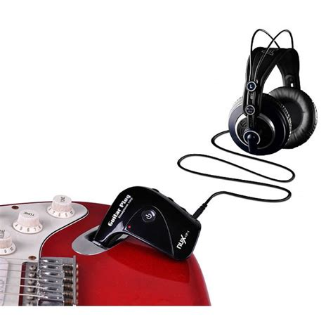 Nux Gp 1 Guitar Headphone nux gp 1 guitar headphones kulakl箟k amfisi mydukkan