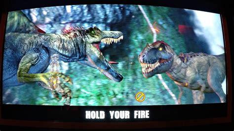 Jurassic Park Arcade Game 2 Player Closed Booth Style Gun ... T 1000000 Terminator