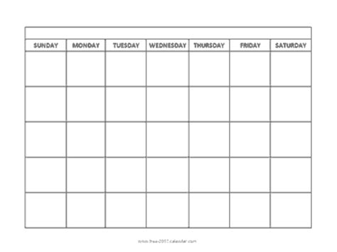 landscape calendar template blank monthly calendar templates editable calendar