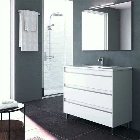 bathroom vanity collections ws bath collections belle 100 complete bathroom vanity