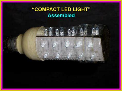 membuat lu led terang hemat energi cara membuat sendiri lampu hemat energi semesta alam