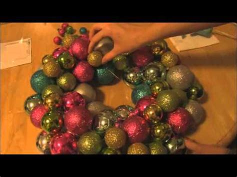 christmas items you tube wreaths diy ornament wreath decor how to socraftastic