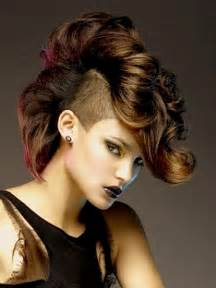 getting mohawk haircuts mohawk hairstyles for womens haircut 2013 trendy mods com