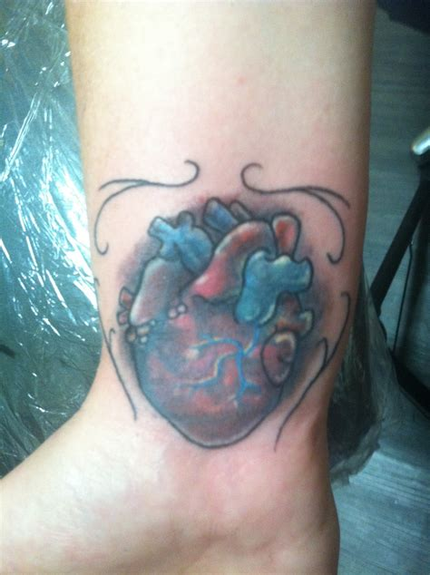 anatomically correct heart tattoo anatomically correct tattoos
