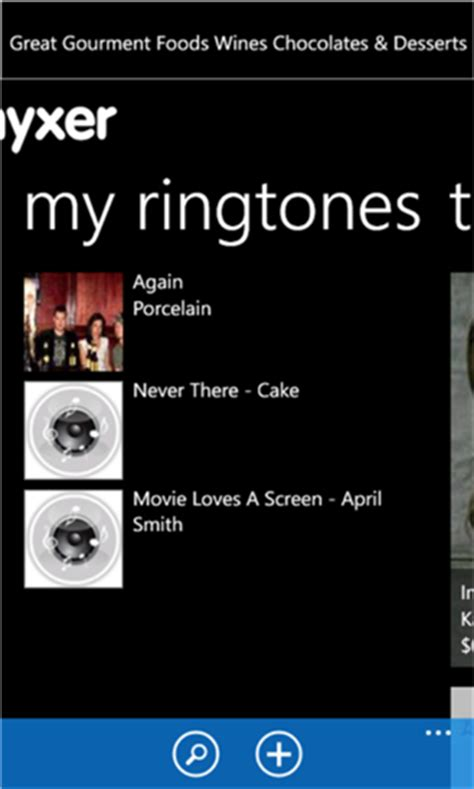 free myxer ringtones app for android phones create own ringtones