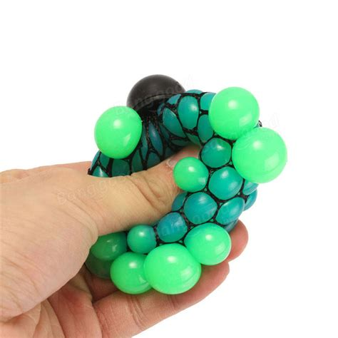 squishy mesh squishy colored mesh stress reliever squeeze