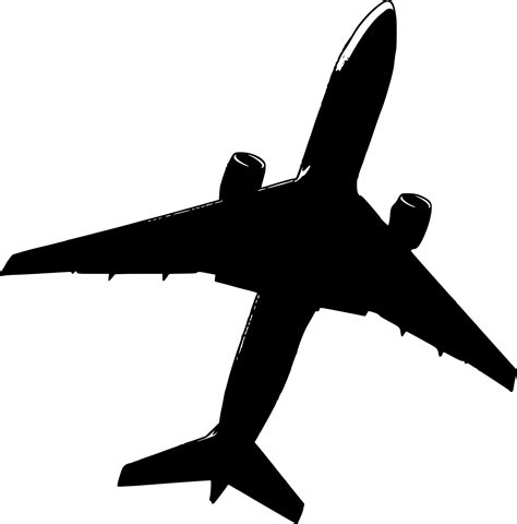 clipart malaysia air mh17 flight crash airplane stencil