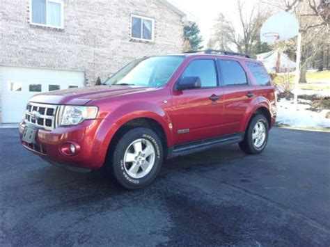 2008 ford escape mpg purchase used 2008 ford escape xlt awd 4x4 3 0 v6 suv