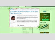 Capture & Share Screenshots In Seconds With Greenshot Greenshot