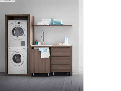 san marco mobili mobili a serrandina per lavanderia con mobile lavatoio in