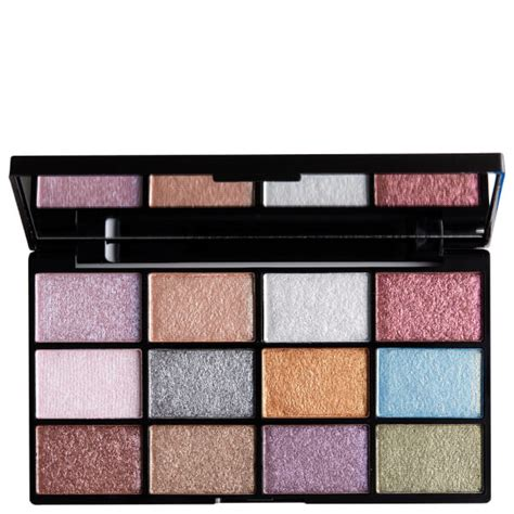 Trend Nyx Eyeshadow Palette nyx professional makeup in your element shadow palette metals free shipping lookfantastic