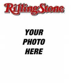 rolling stone cover customizable with your photo edit the