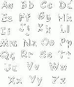 lettere alfabeto maiuscole da stare lettre o hibou coloriage de lettre o hibou sur coloriage