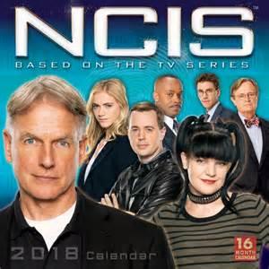 Calendar 2018 Tv Shows Ncis Tv Series 16 Month 2018 Photo Wall Calendar New