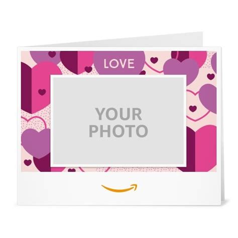 printable gift card uk upload your photo love just because printable amazon