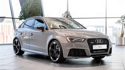 Audi Shows Off Rs3 Sportback In Nardo Grey