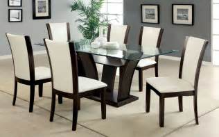 exciting black kitchen table top glass wrought