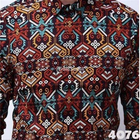 Kemeja Batik Tribal Pria Murah Lengan Pendek Baru Best Seller Casual baju batik pria lengan panjang caleb batik tribal terbaru harga murah depok dijual tribun