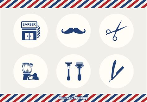 free vector free barber tools vector free vector stock