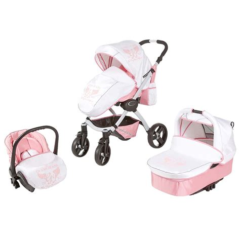 baby boy car seat and stroller set designer baby oh my his and hers guess stroller sets