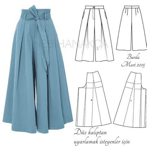 sewing pattern for palazzo pants 532 best dikiş moda tasarım images on pinterest hijabs
