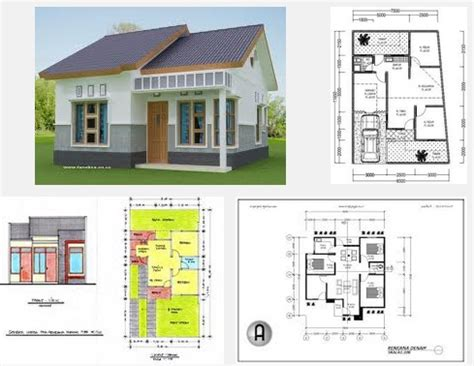Gambar Download Desain Rumah Minimalis Autocad   Contoh O
