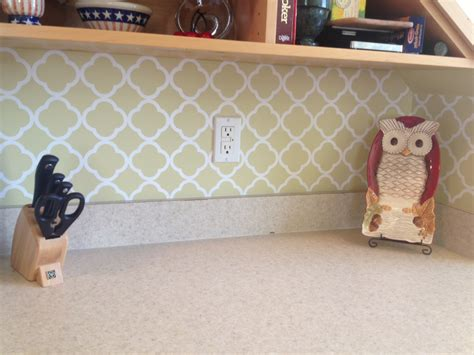 vinyl quatrefoil backsplash projects landeelu