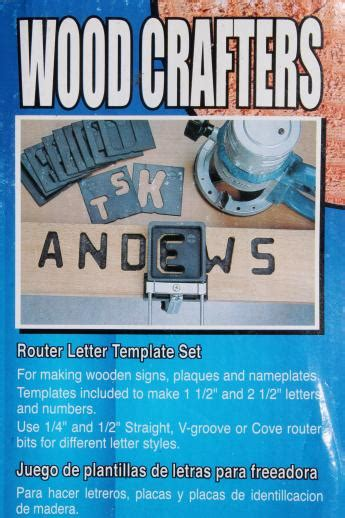 wood sign making template jig 1 1 2 quot 2 1 2 quot letter
