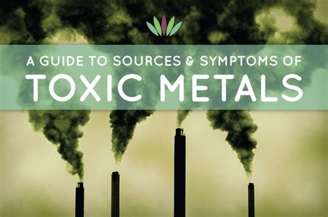 Cadmium Exposure Detox by Guide To Sources And Symptoms Of Toxic Metals Liveto110