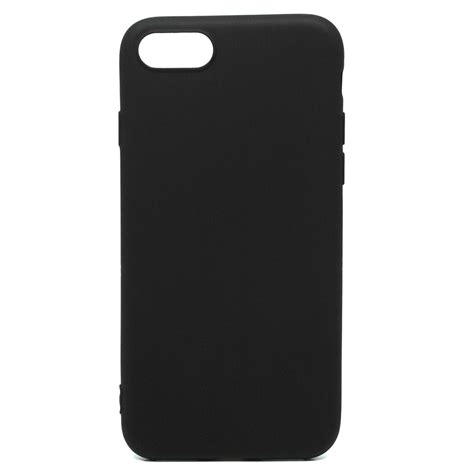matte tpu softcase for iphone 7 8 black