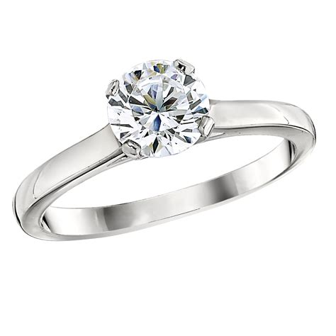 classic solitaire engagement ring settings