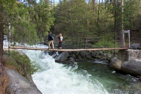 swinging bridge yosemite wawona swinging bridge yosemite np hikespeak com