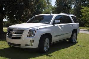 Cadillac Platinum Escalade 2016 Cadillac Escalade 4wd Platinum Review