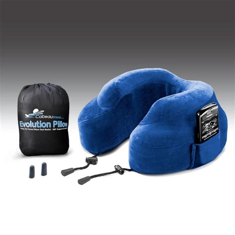 Travel Neck Pillows by Evolution Pillow Memory Foam Travel Neck Pillow The
