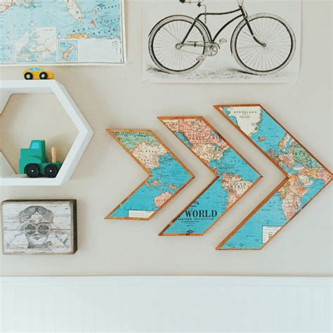 Walldecor Stick Es world map arrows wooden wall decor by grainsofgrace on etsy