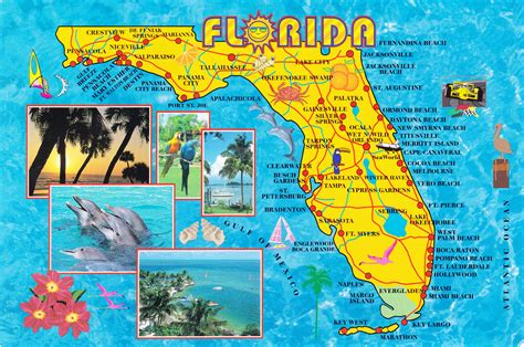 florida map of beaches is a florida front vacation right for you