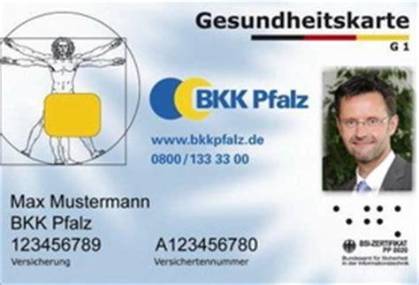 versicherung karte zum arzt und keine g 252 ltige versicherungskarte bkk pfalz