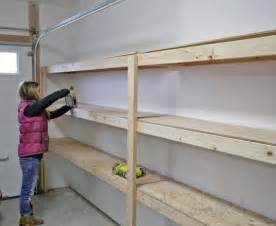 garage affordable garage shelving ideas 5 and cheap