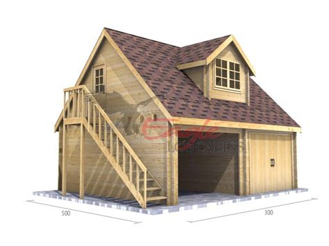 cost to build double garage with bedroom above timber garage 005 6 0m x 5 0m timber garages